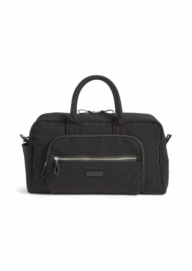 Vera Bradley Women's Iconic Compact Weekender Travel Bag Vera