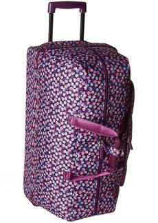 Vera Bradley Women's Large Wheeled Duffel Berry Burst