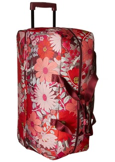 Vera Bradley Women's Lighten Up Large Wheeled Duffel