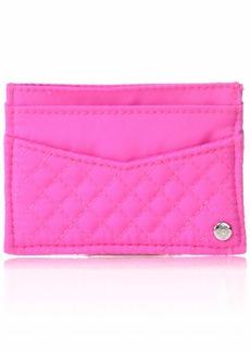 Vera Bradley Women's Microfiber Slim Card Case Wallet