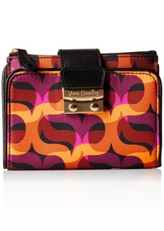 Vera Bradley Women's Pushlock Wallet