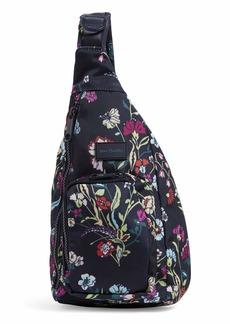 Vera Bradley Women's Recycled Lighten Up Reactive Mini Sling Backpack Bookbag