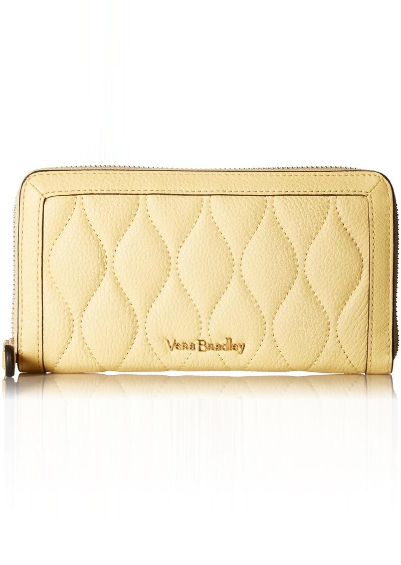 Vera Bradley Women's RFID Quilted Georgia Wallet