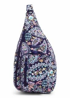 Vera Bradley Women's Signature Cotton Medium Sling Backpack
