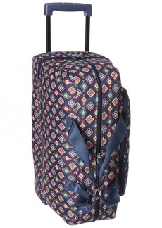 Vera Bradley Women's Wheeled Carry-on Mini Medallions