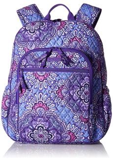 Vera Bradley Women's Campus Tech Backpack Signature Cotton