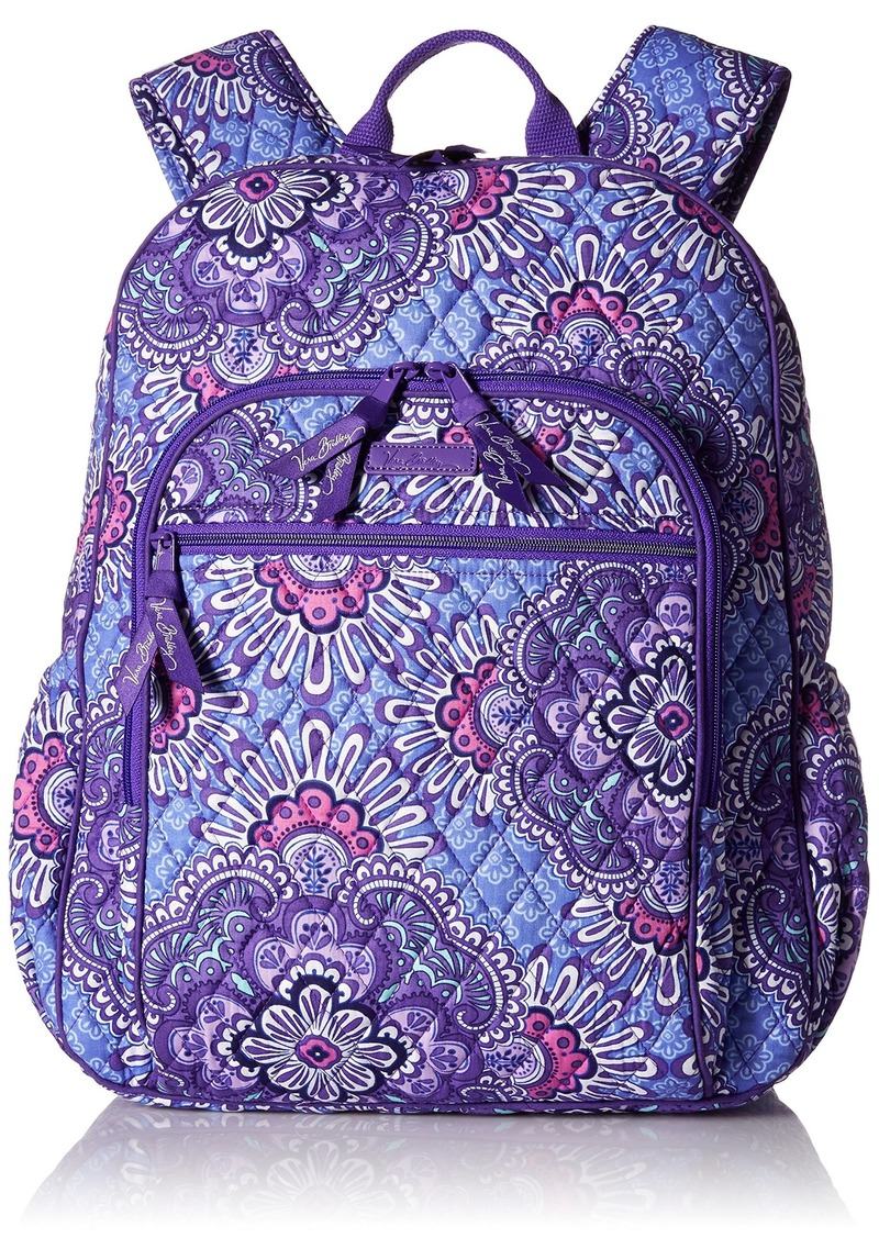 On Sale today! Vera Bradley Women s Campus Tech Backpack Signature ... f82bd2c8844fa