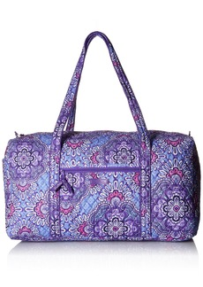 Vera Bradley Women's Large Duffel Signature Cotton