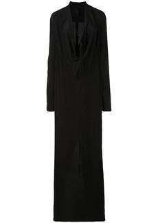 Vera Wang draped gown