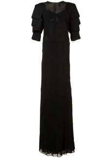 Vera Wang georgette gown