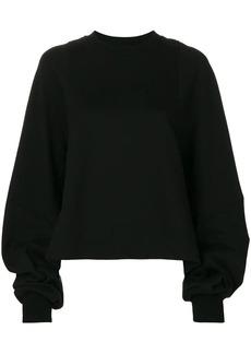 Vera Wang oversize sleeve sweatshirt