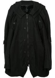 Vera Wang oversized military coat