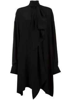 Vera Wang peplum gown