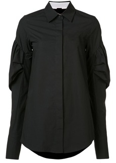 Vera Wang puff sleeve shirt