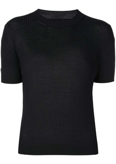 Vera Wang ribbed knit mini dress