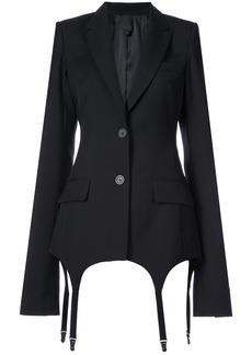 Vera Wang classic fitted blazer - Black