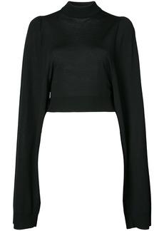 Vera Wang classic long-sleeve sweater - Black