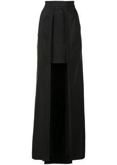 Vera Wang cutaway skirt - Black