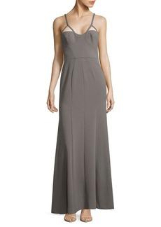 Vera Wang Cutout Gown
