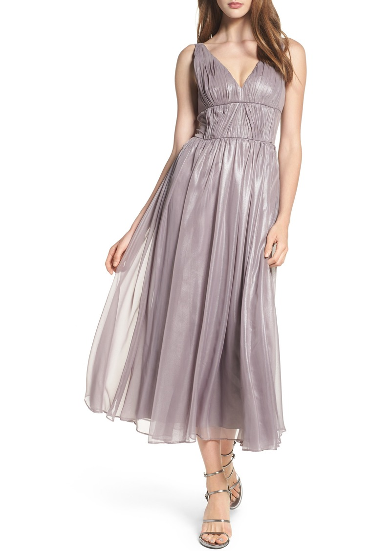 Vera Wang Vera Wang Empire Waist Ruched Cocktail Dress | Dresses ...