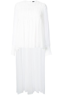 Vera Wang gathered detail blouse - White