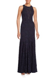 Vera Wang Lace Trumpet Gown