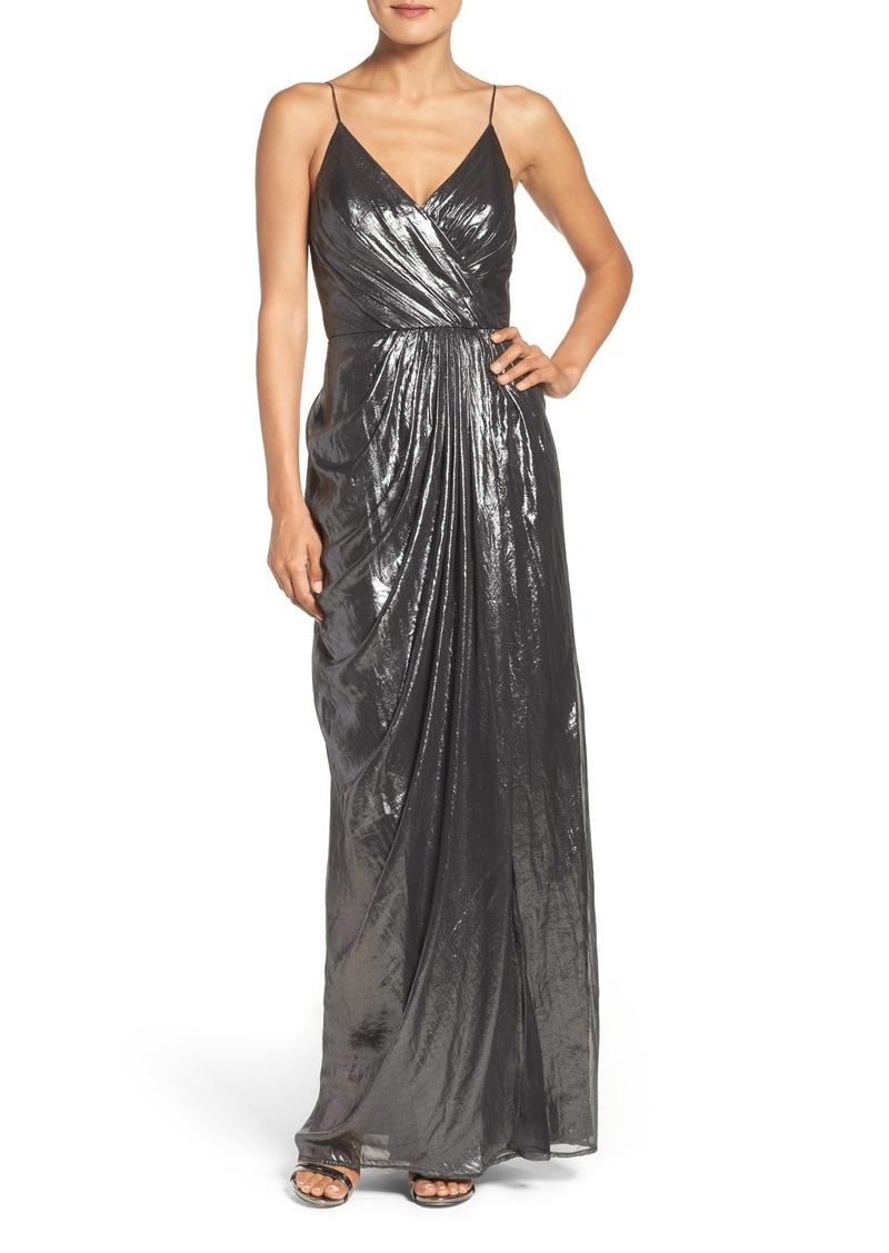 2369ea014df8 Vera Wang Vera Wang Metallic Gown | Dresses