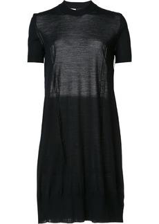 Vera Wang tulle insert dress - Blue