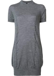 Vera Wang tulle insert dress - Grey