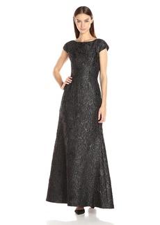 Vera Wang Women's Jacquard Gown