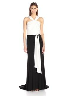 Vera Wang Women's Jersey Gown