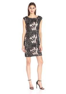 Vera Wang Women's Lace Dress