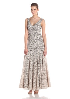 Vera Wang Women's Lace Maxi Dress