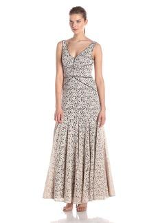 Vera Wang Women's Lace Maxi Dress