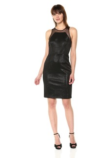 Vera Wang Women's Sleeveless Cocktail Dress