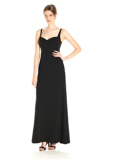 Vera Wang Women's Sleeveless Gown with Sweetheart Neckline