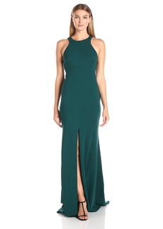 Vera Wang Women's Suba Crepe Maxi Dress