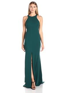 Vera Wang Women's Suba Crepe Maxi Dress