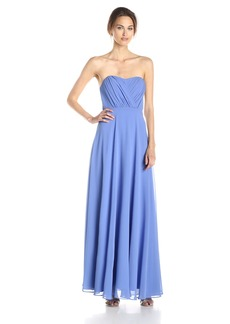 Vera Wang Women's Sweetheart Strapless Long Dress
