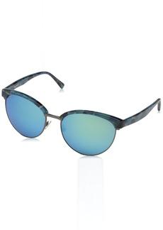 Vera Wang Women's V430 Round Sunglasses  56 mm