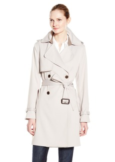 Vera Wang Women's Valencia Double Breasted Trench Coat