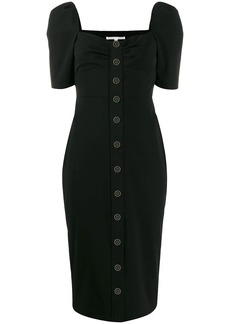 Veronica Beard short-sleeve midi dress