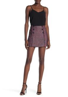 Veronica Beard Adrien Tweed Mini Skirt