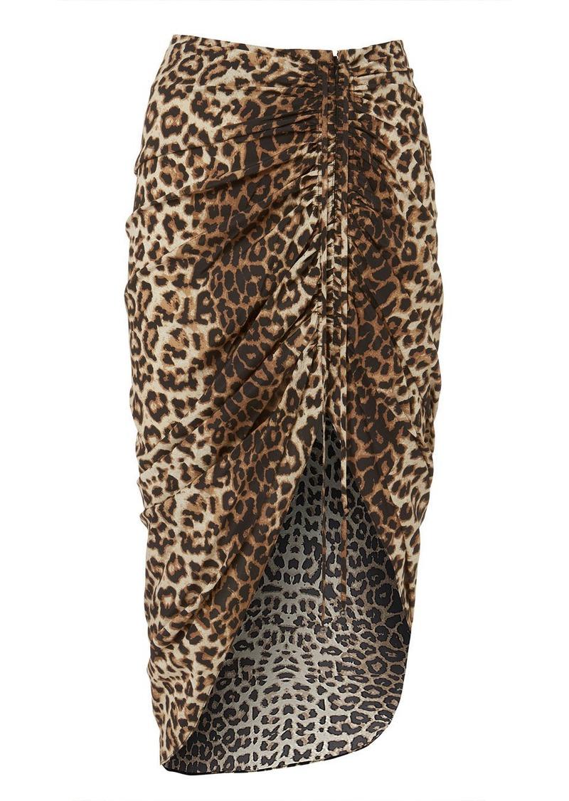 537594d1fb97e Veronica Beard Ari Asymmetrical Leopard Skirt