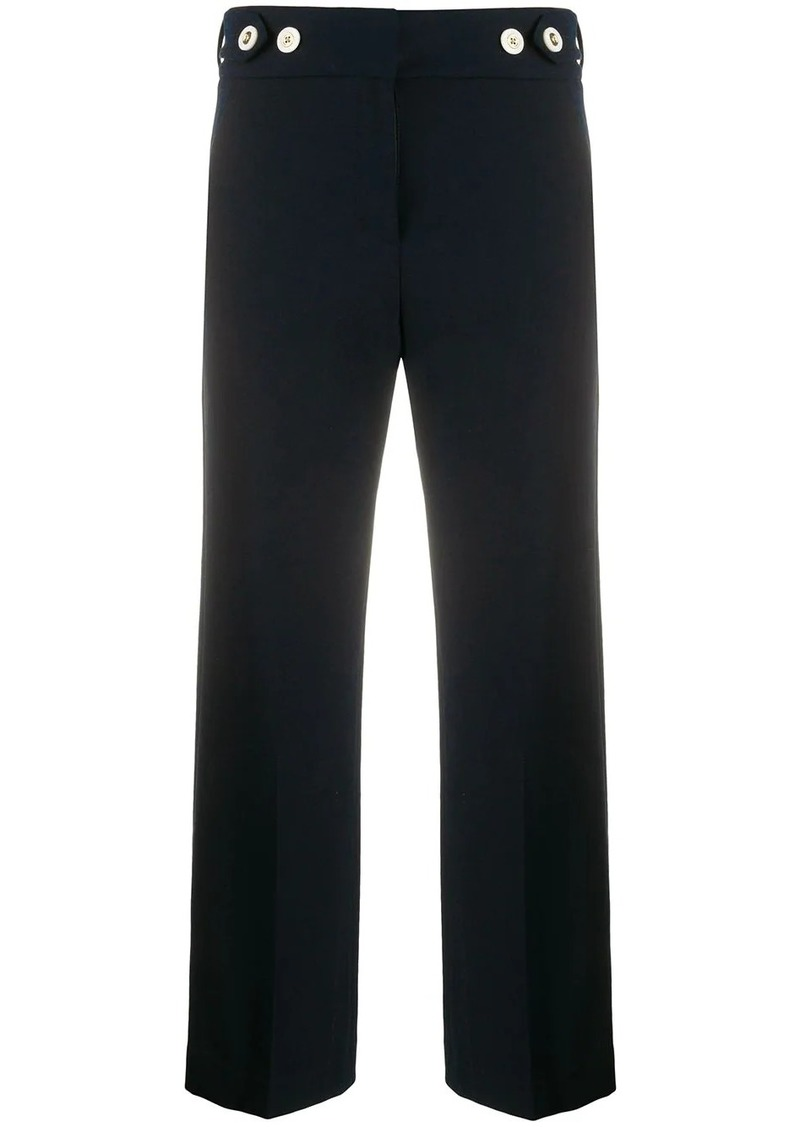 Veronica Beard Aubrie cropped trousers
