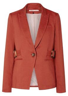 Veronica Beard Baltazar Dickey Linen-blend Blazer
