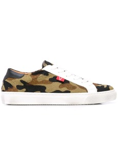 Veronica Beard camouflage print low-top sneakers