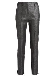 Veronica Beard Carlson Lurex Trousers