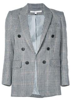 Veronica Beard checked print blazer