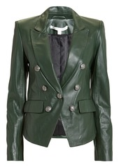 Veronica beard cooke green leather jacket abv7a595af2 a